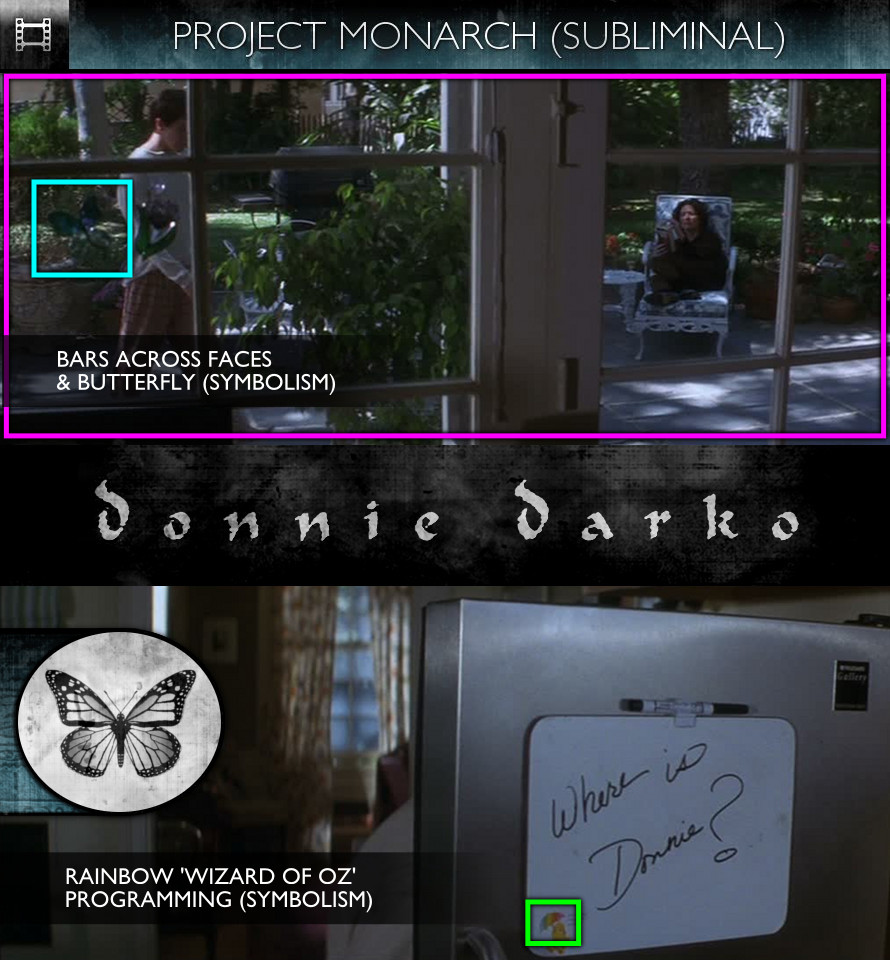 Donnie Darko (2001) - Project Monarch - Subliminal