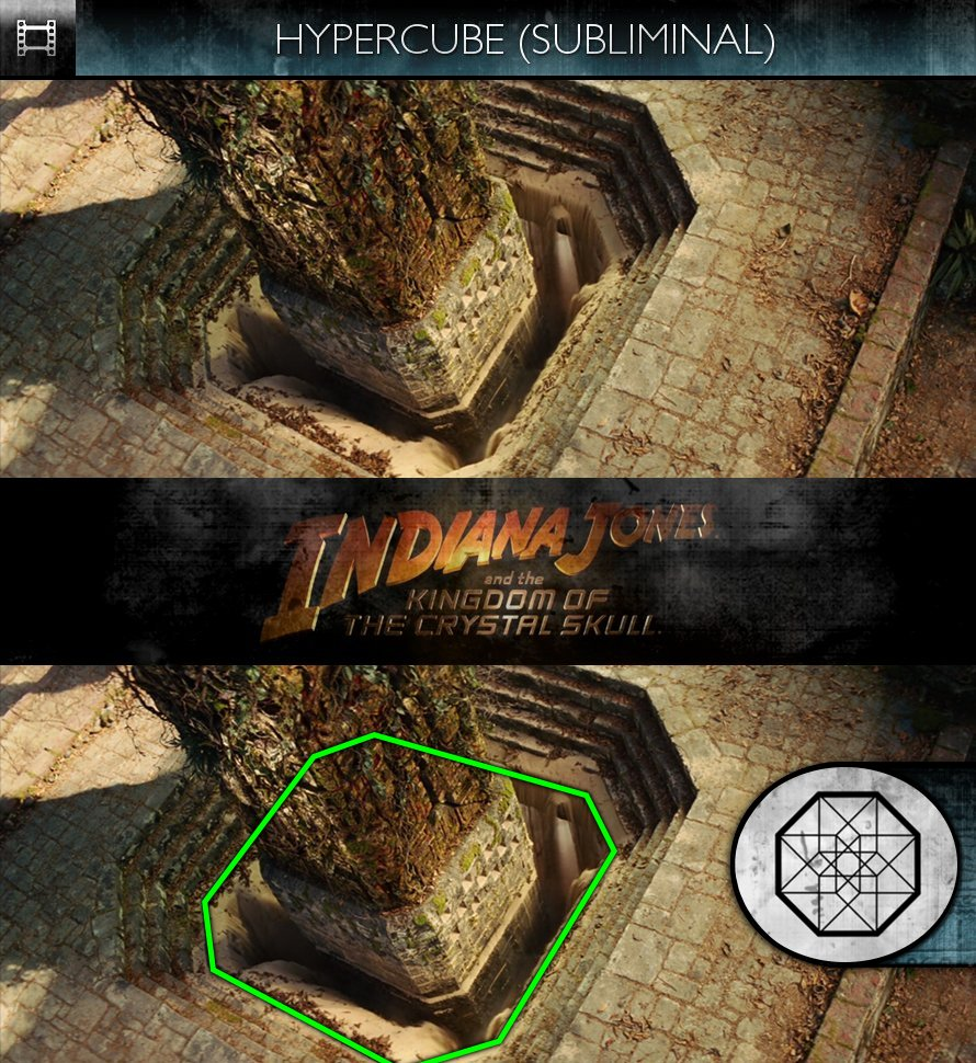 Indiana Jones & The Kingdom of the Crystal Skull (2008) - Hypercube - Subliminal