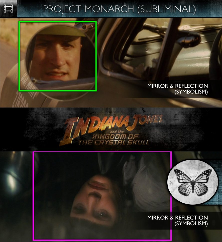 Indiana Jones & The Kingdom of the Crystal Skull (2008) - Project Monarch - Subliminal