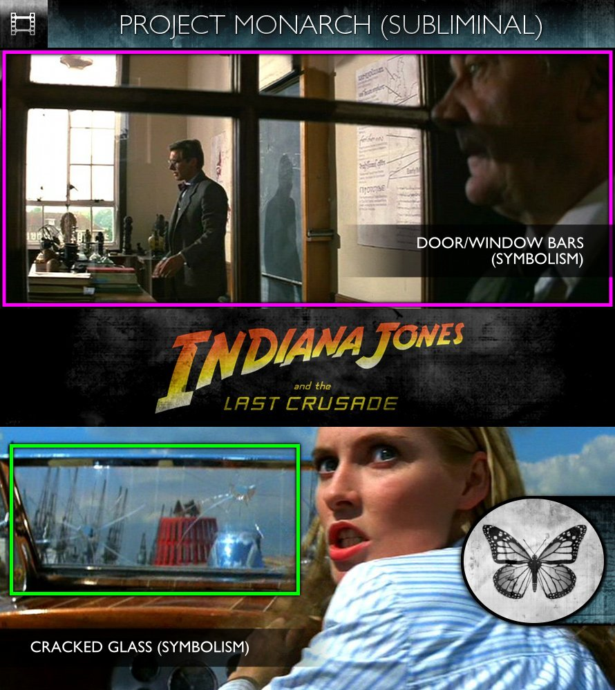 Indiana Jones & The Last Crusade (1989) - Project Monarch - Subliminal