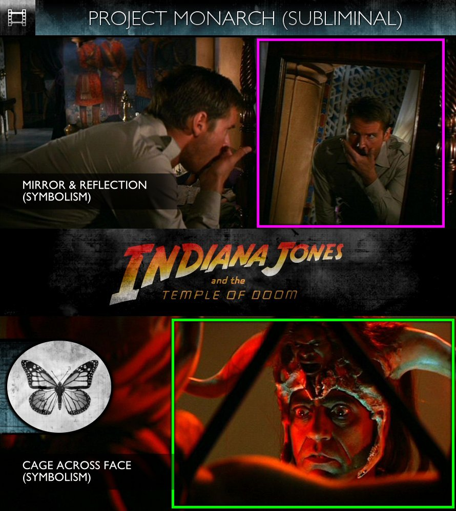 Indiana Jones & The Temple of Doom (1984) - Project Monarch - Subliminal