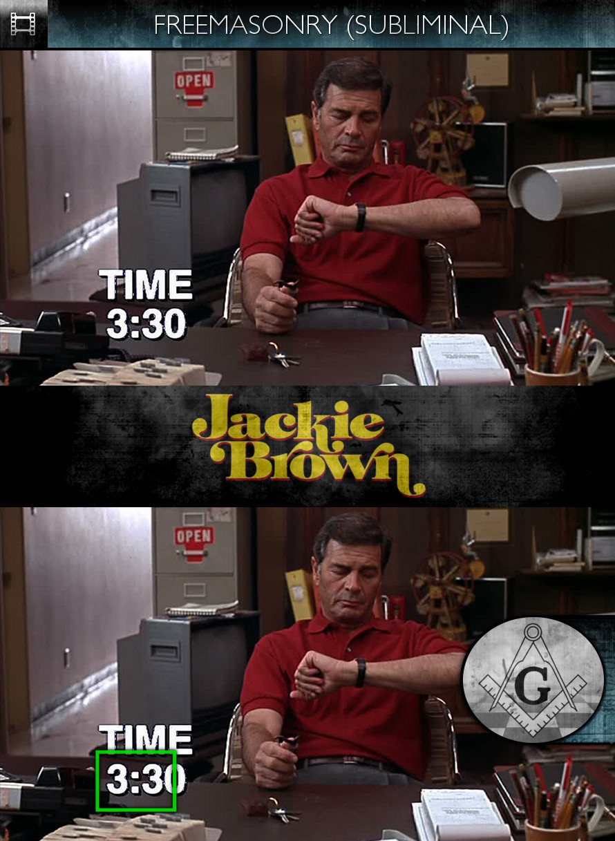Jackie Brown (1997) - Freemasonry - Subliminal