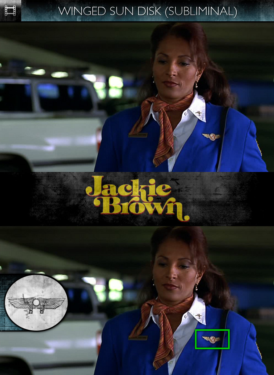 Jackie Brown (1997) - Winged Sun-Disk - Subliminal