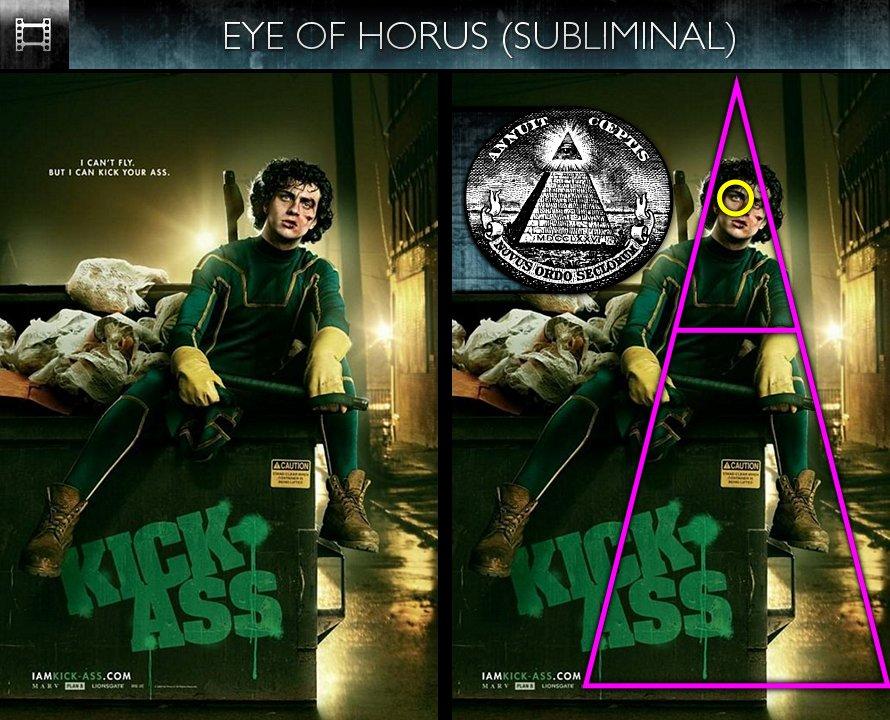 Kick-Ass (2010) - Poster - Eye of Horus - Subliminal