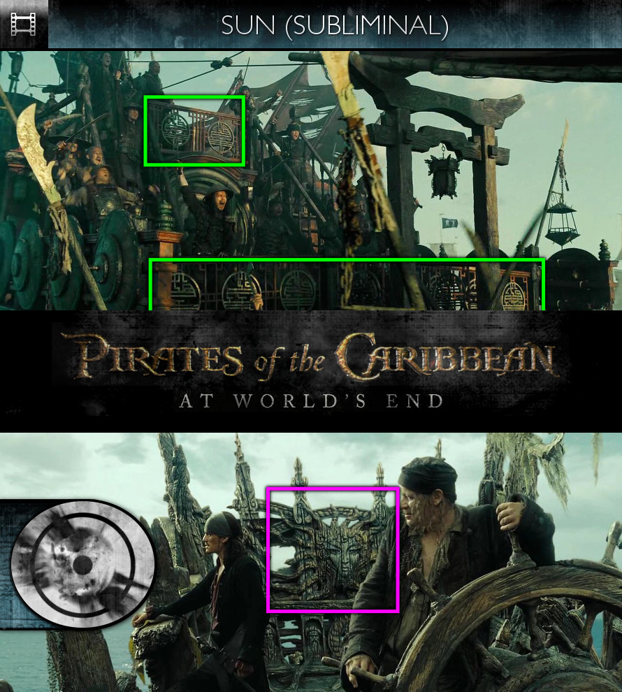 Pirates of the Caribbean: At World's End (2007) - Sun/Solar - Subliminal