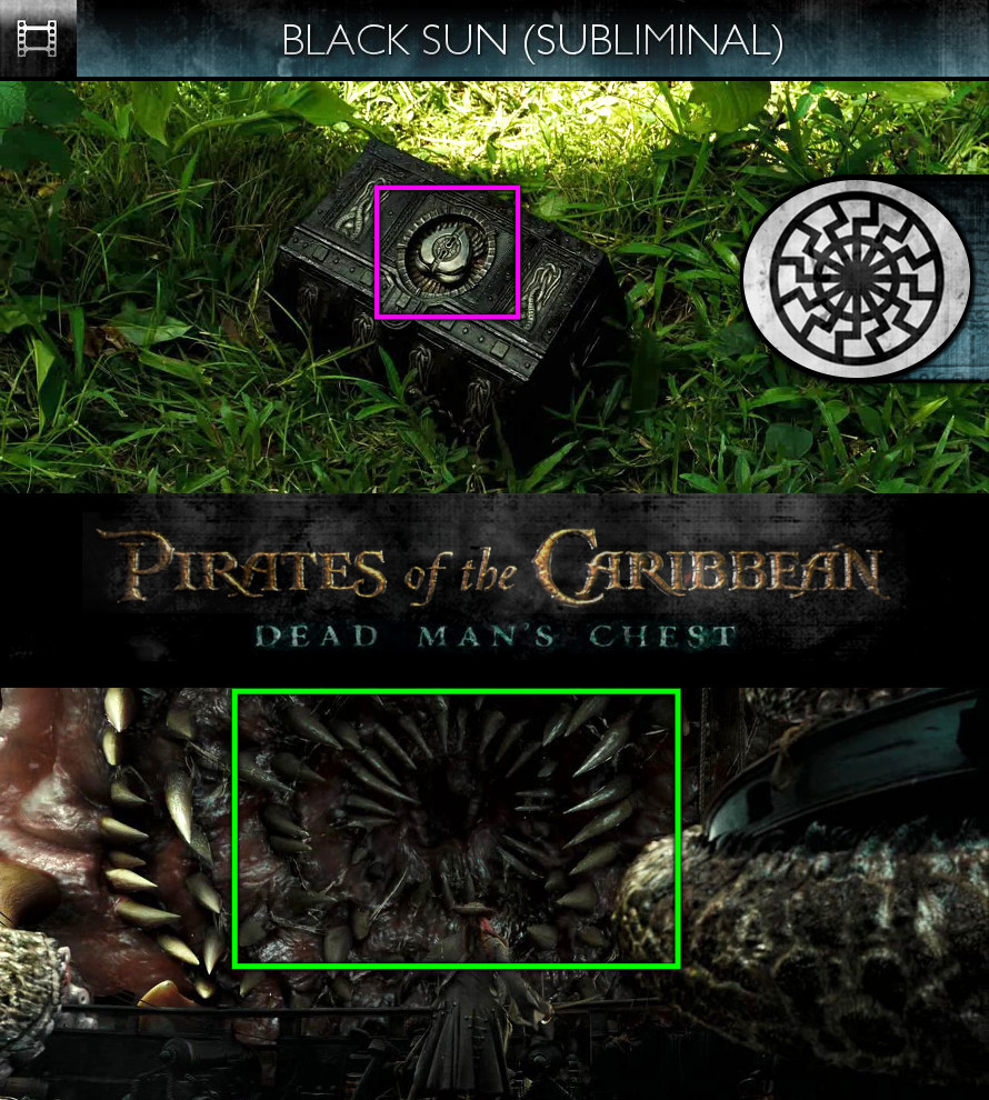 Pirates of the Caribbean: Dead Man's Chest (2006) - Black Sun - Subliminal