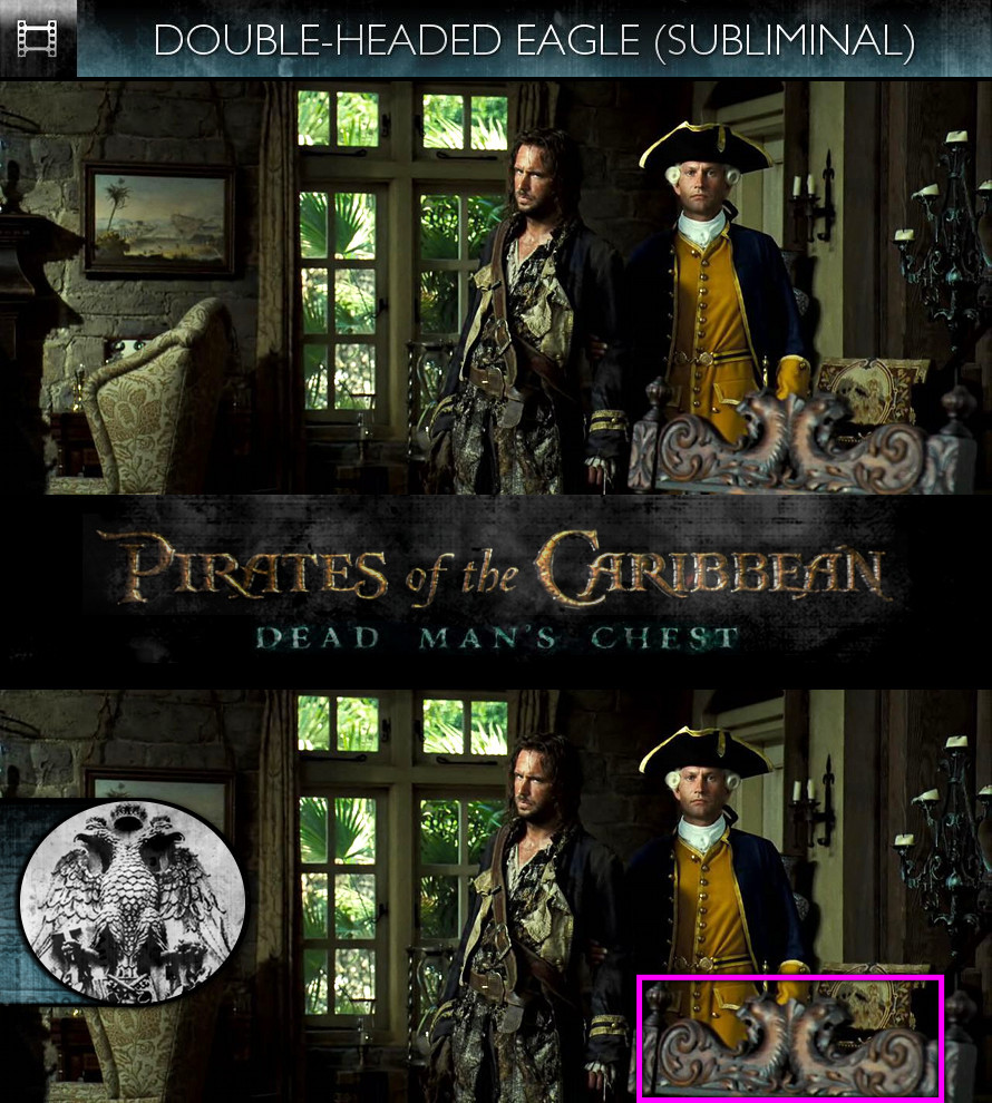 Pirates of the Caribbean: Dead Man's Chest (2006) - Double-Headed Eagle - Subliminal