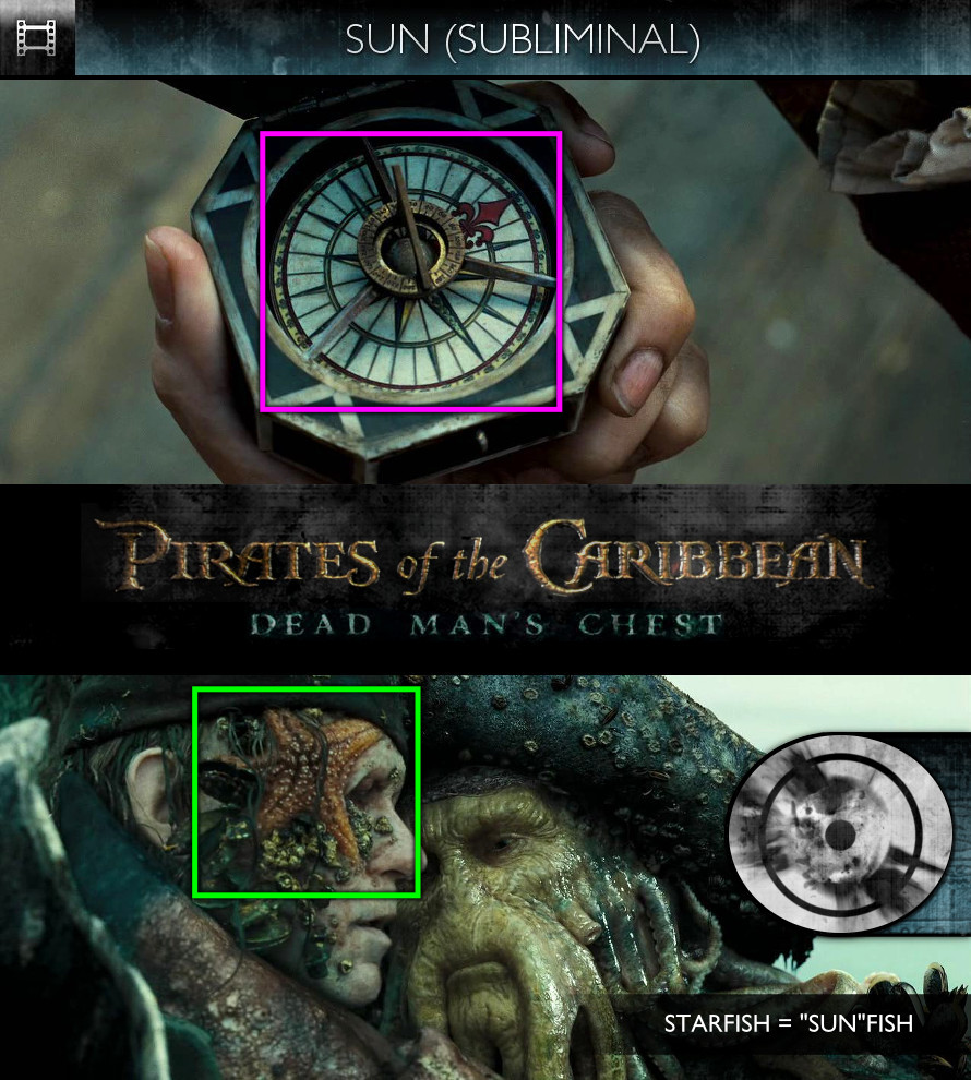 Pirates of the Caribbean: Dead Man's Chest (2006) - Sun/Solar - Subliminal