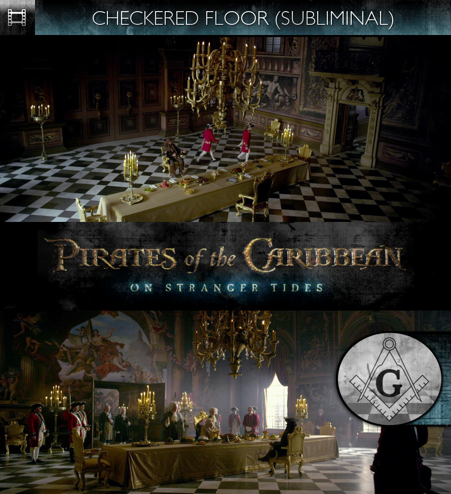 Pirates of the Caribbean: On Stranger Tides (2011) - Checkered Floor - Subliminal