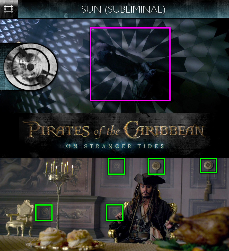 Pirates of the Caribbean: On Stranger Tides (2011) - Sun/Solar - Subliminal