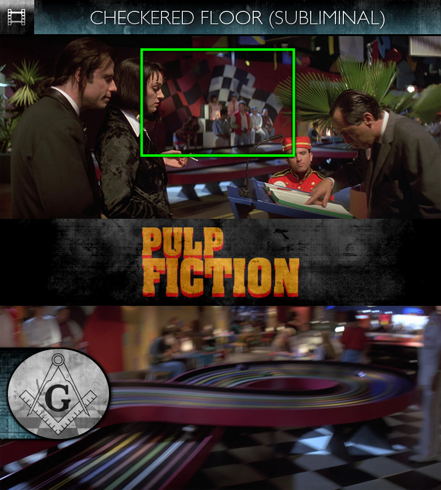 Pulp Fiction (1994) - Checkered Floor - Subliminal
