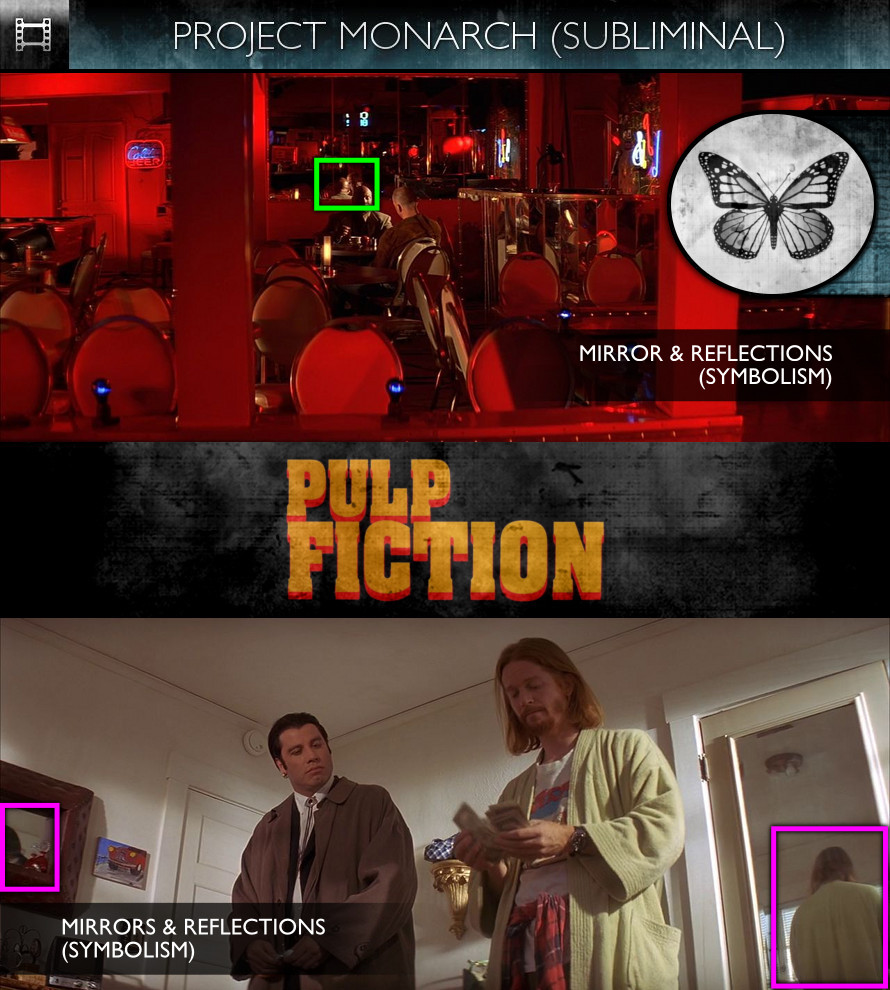 Pulp Fiction (1994) - Project Monarch - Subliminal