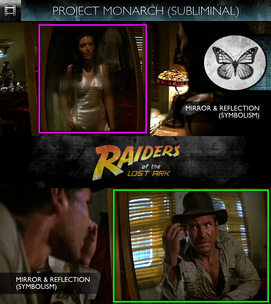 Raiders of the Lost Ark (1981) - Project Monarch - Subliminal