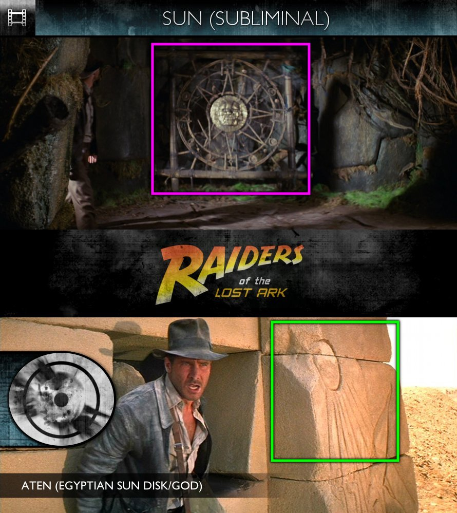 Raiders of the Lost Ark (1981) - Sun/Solar - Subliminal