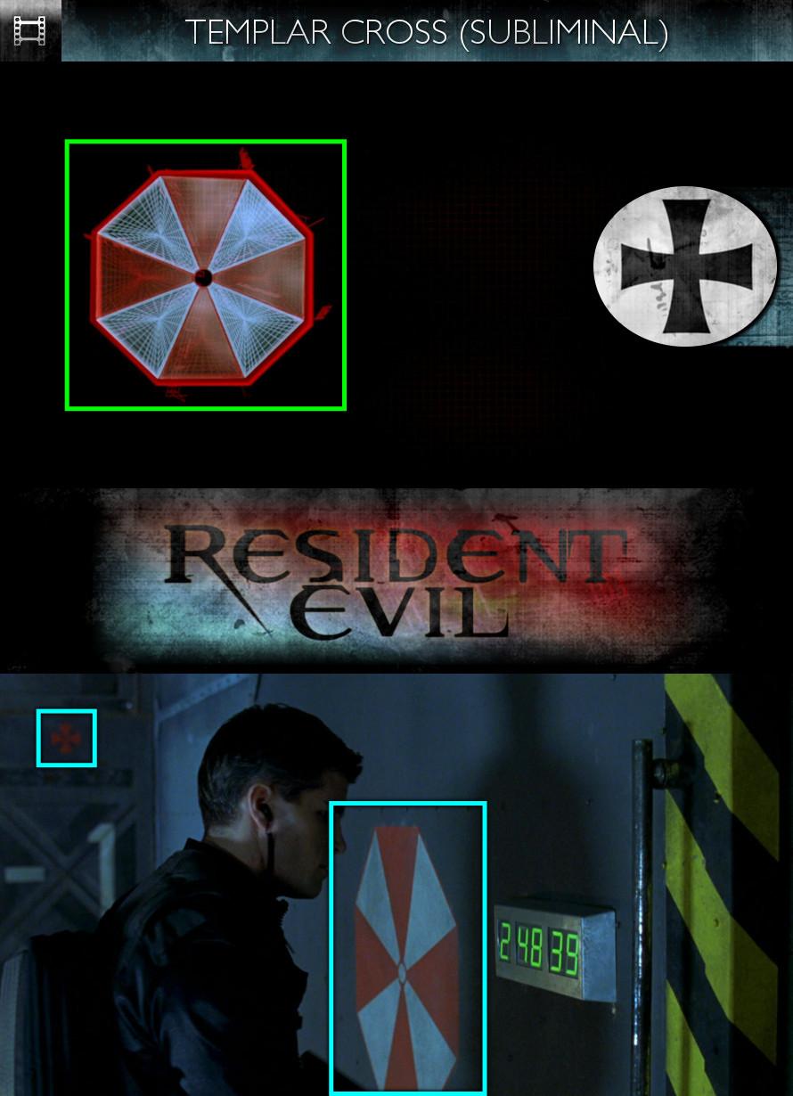 Resident Evil (2002) - Templar Cross - Subliminal