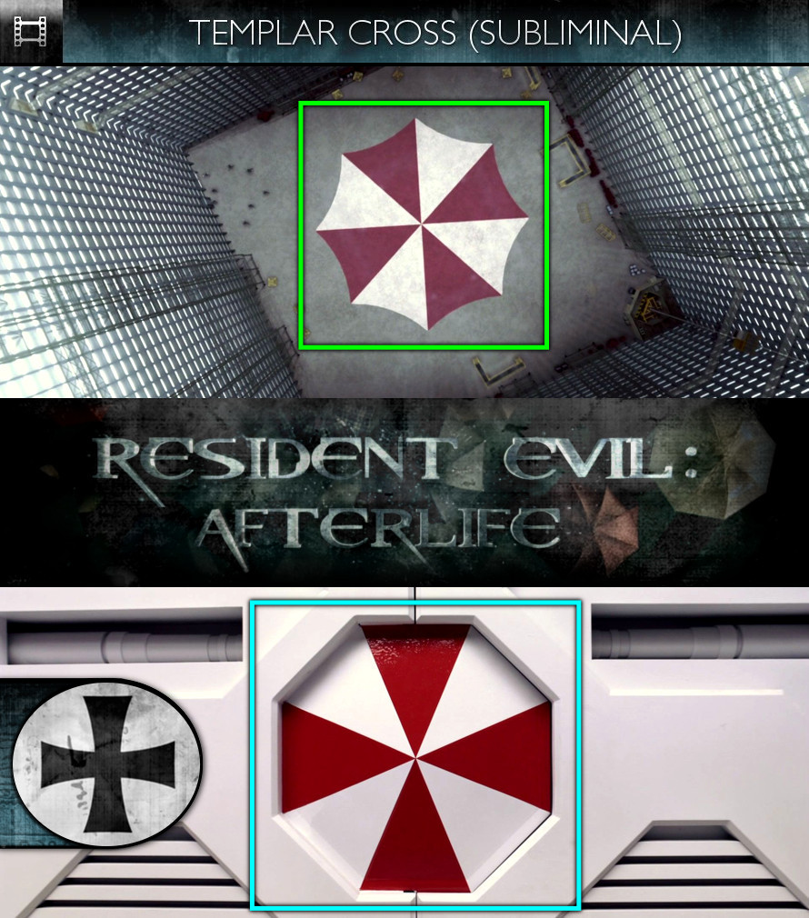 Resident Evil: Afterlife (2010) - Templar Cross - Subliminal