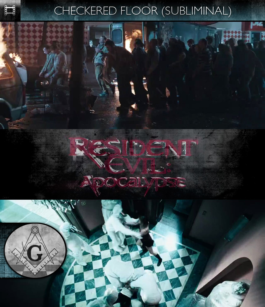 Resident Evil: Apocalypse (2004) - Checkered Floor - Subliminal