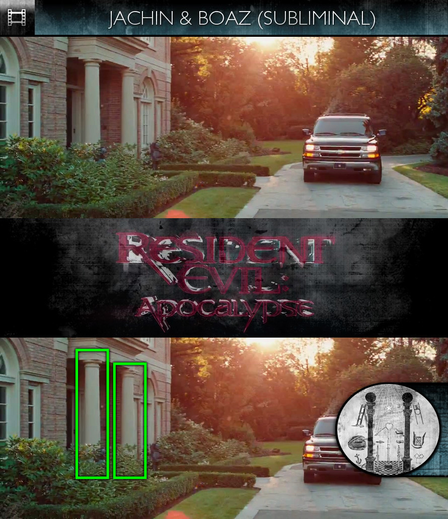 Resident Evil: Apocalypse (2004) - Jachin & Boaz - Subliminal
