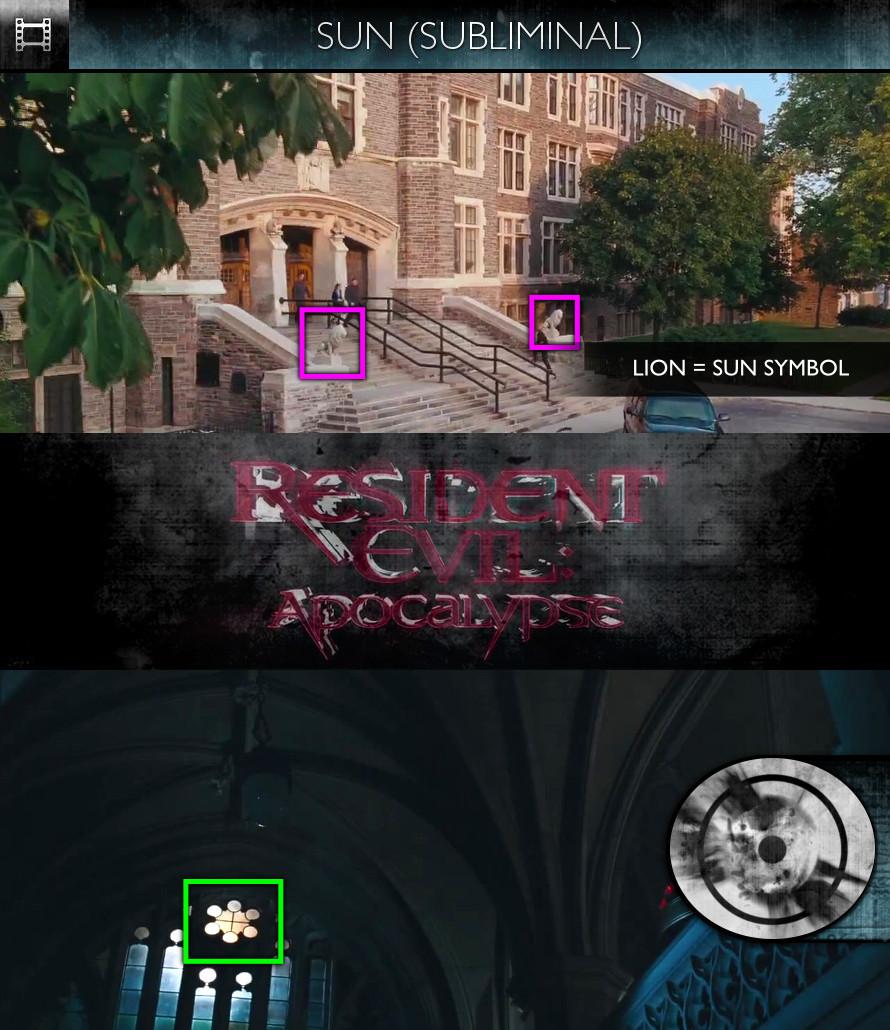 Resident Evil: Apocalypse (2004) - Sun/Solar - Subliminal