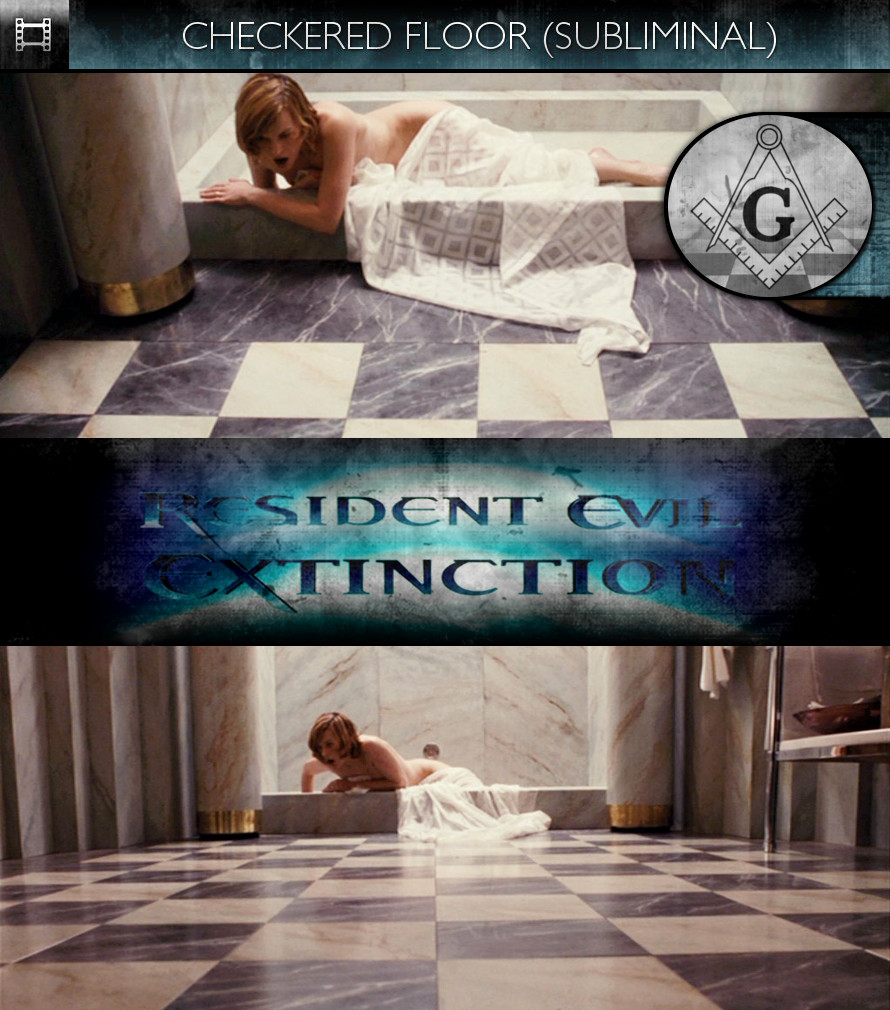 Resident Evil: Extinction (2007) - Checkered Floor - Subliminal