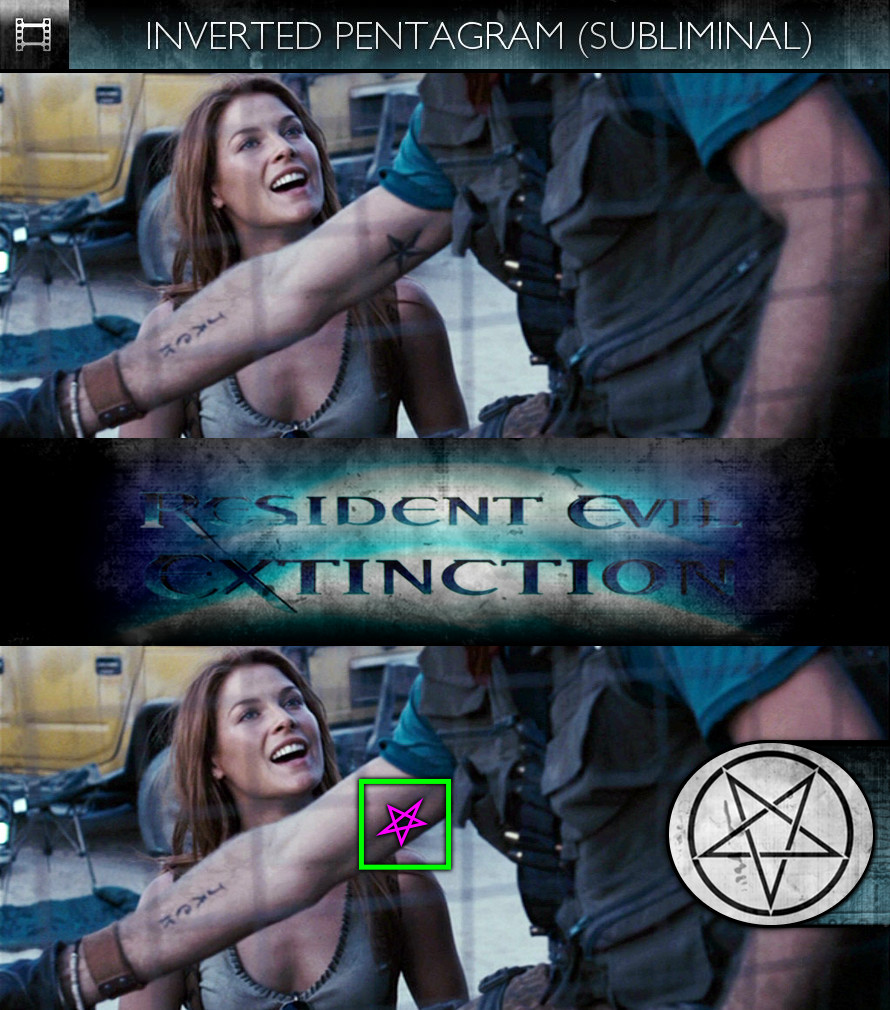 Resident Evil: Extinction (2007) - Inverted Pentagram - Subliminal