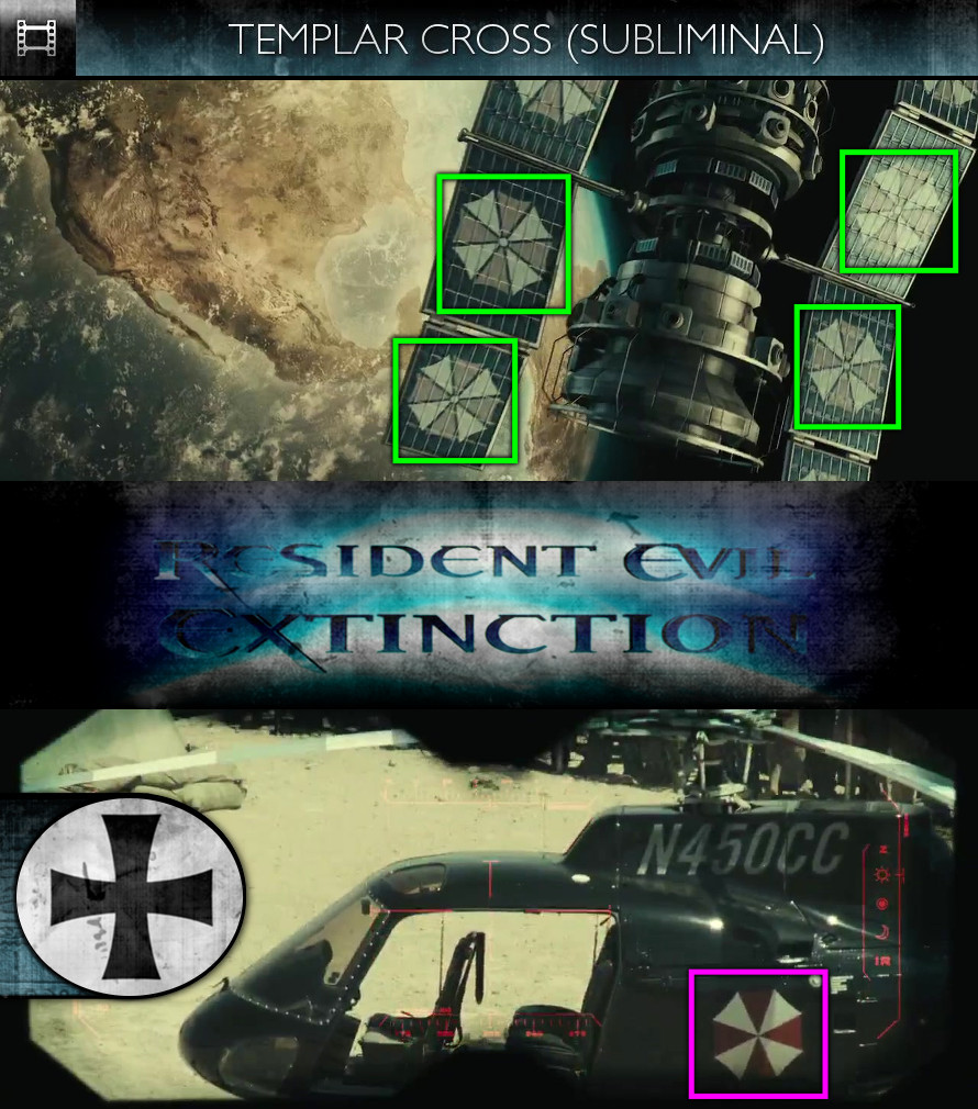 Resident Evil: Extinction (2007) - Templar Cross - Subliminal