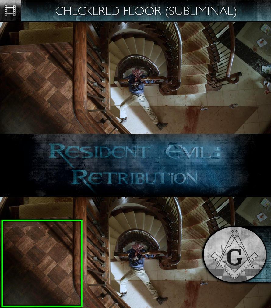 Resident Evil: Retribution (2012) - Checkered Floor - Subliminal