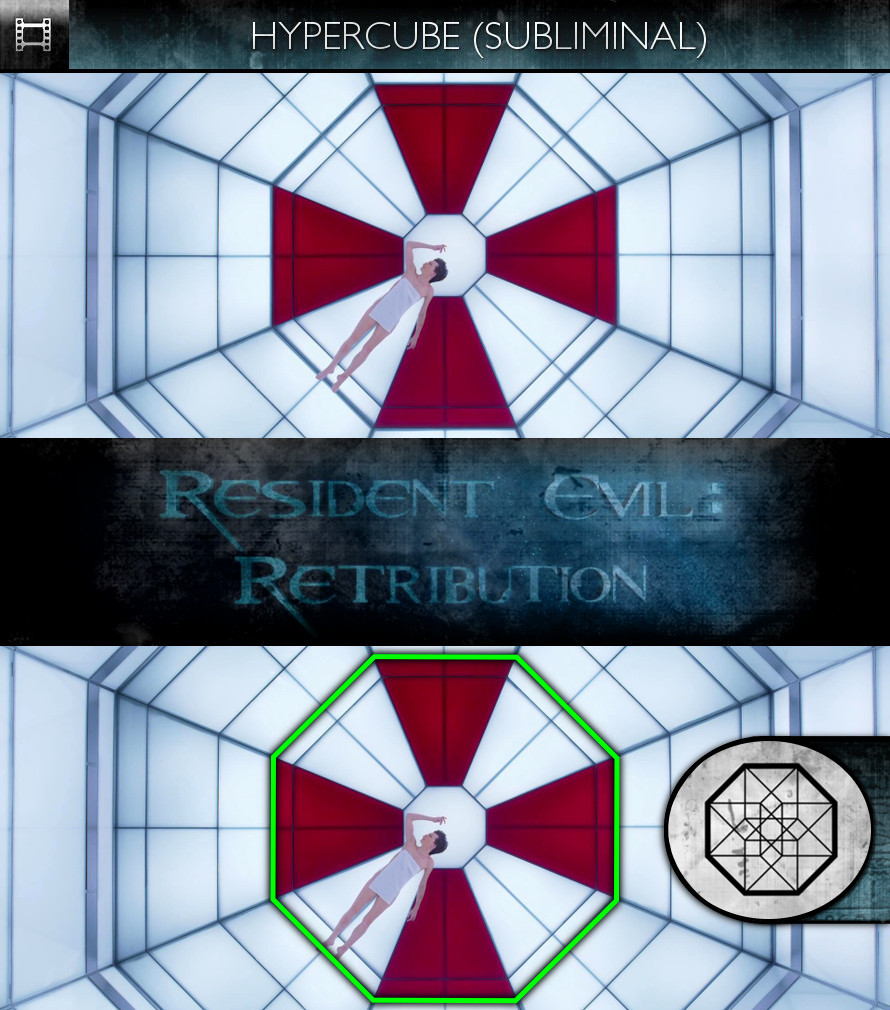 Resident Evil: Retribution (2012) - Hypercube - Subliminal