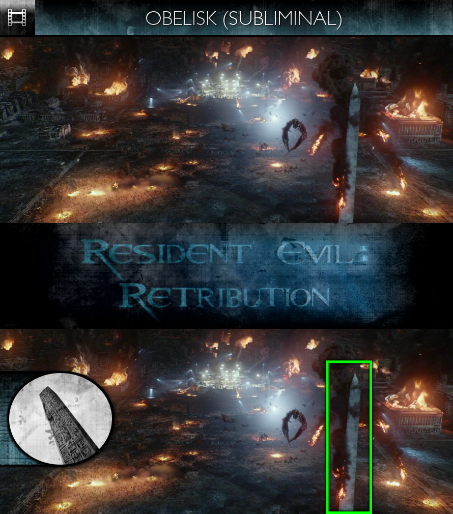 Resident Evil: Retribution (2012) - Obelisk - Subliminal