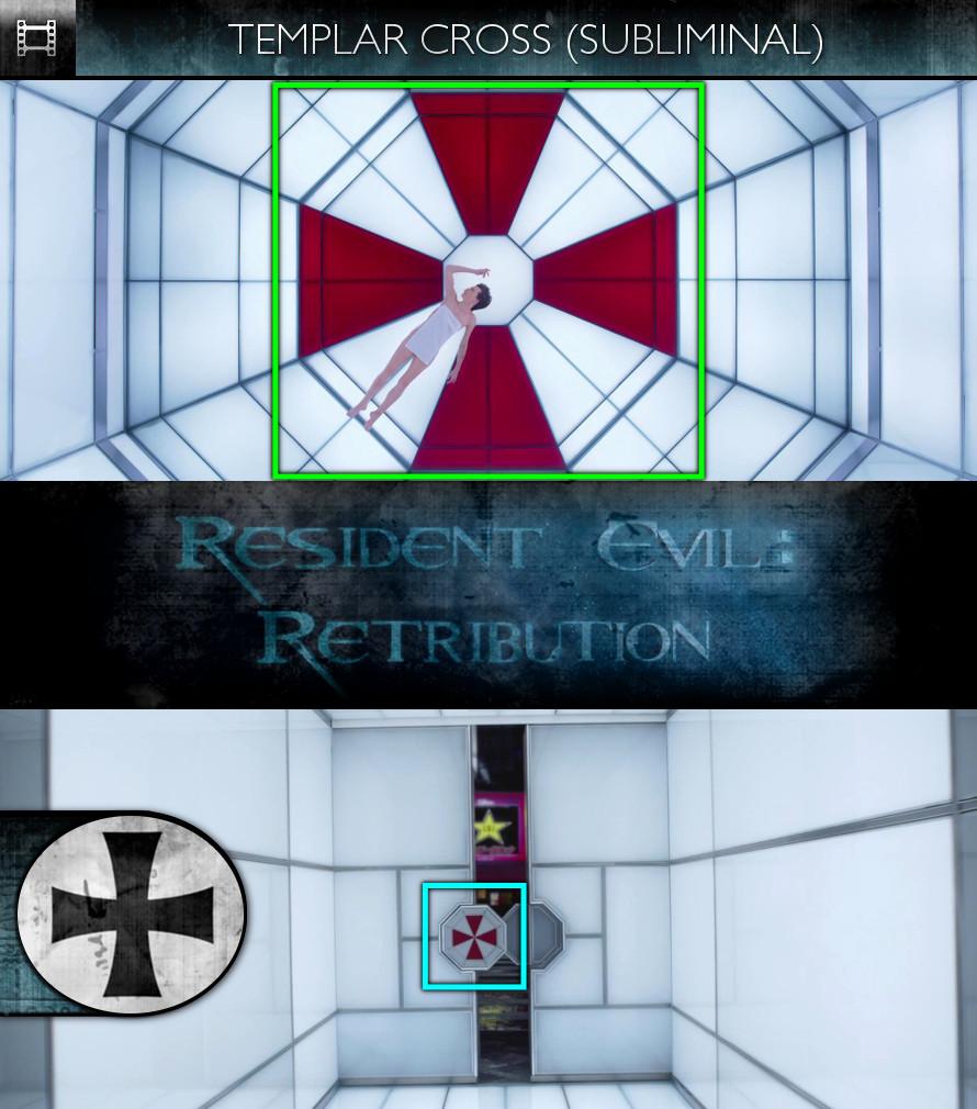 Resident Evil: Retribution (2012) - Knights Templar (Cross) - Subliminal