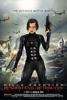 Resident Evil - Retribution - Poster