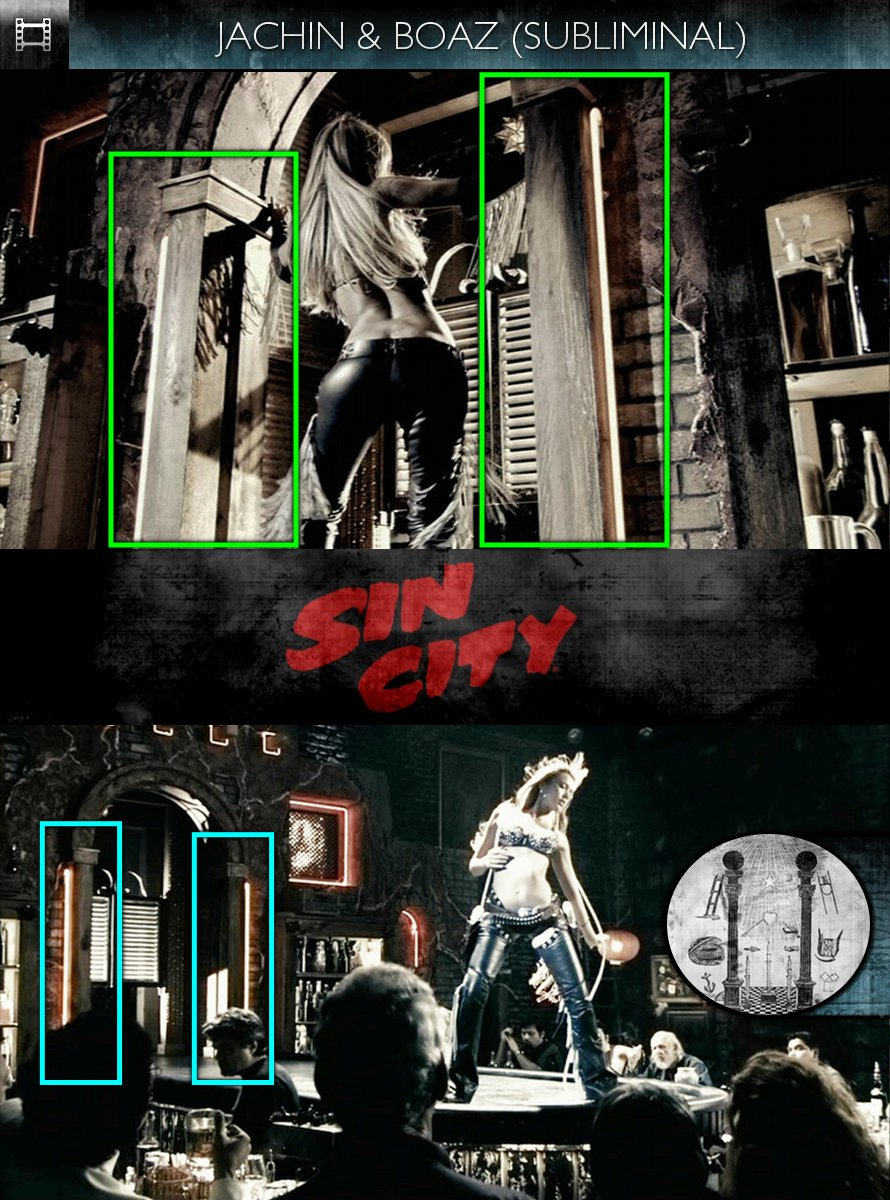 Sin City (2005) - Jachin & Boaz - Subliminal