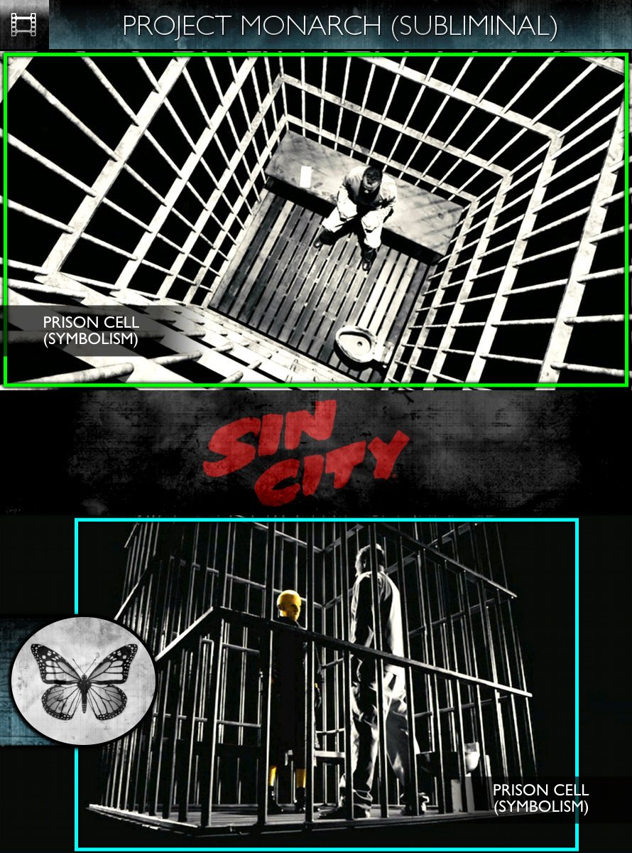 Sin City (2005) - Project Monarch - Subliminal