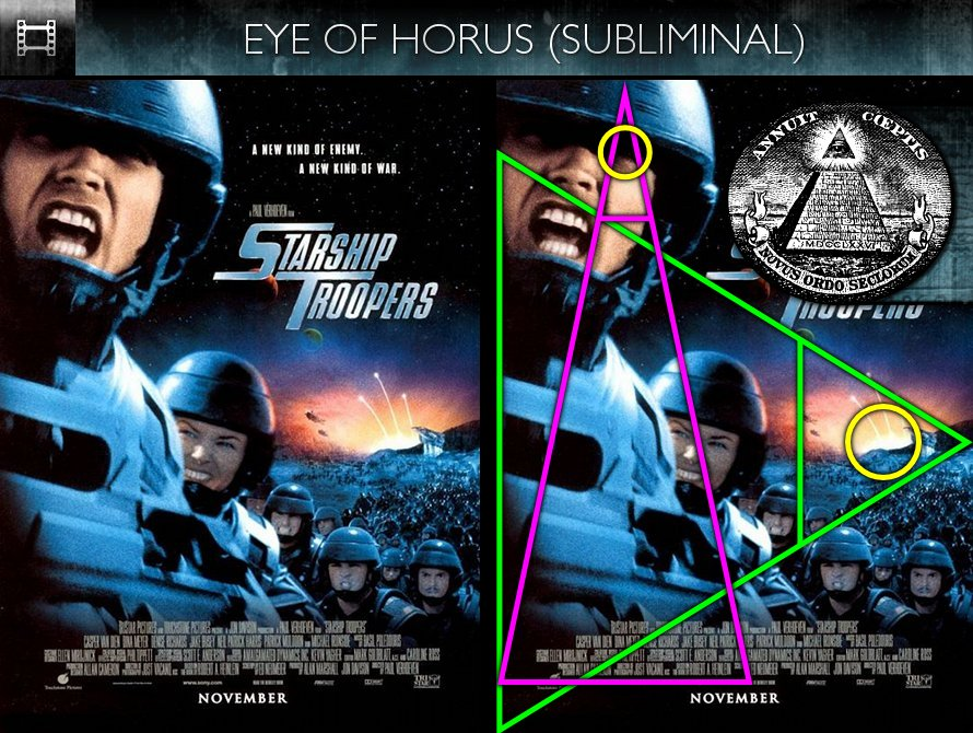 Starship Troopers (1997) - Poster - Eye of Horus - Subliminal