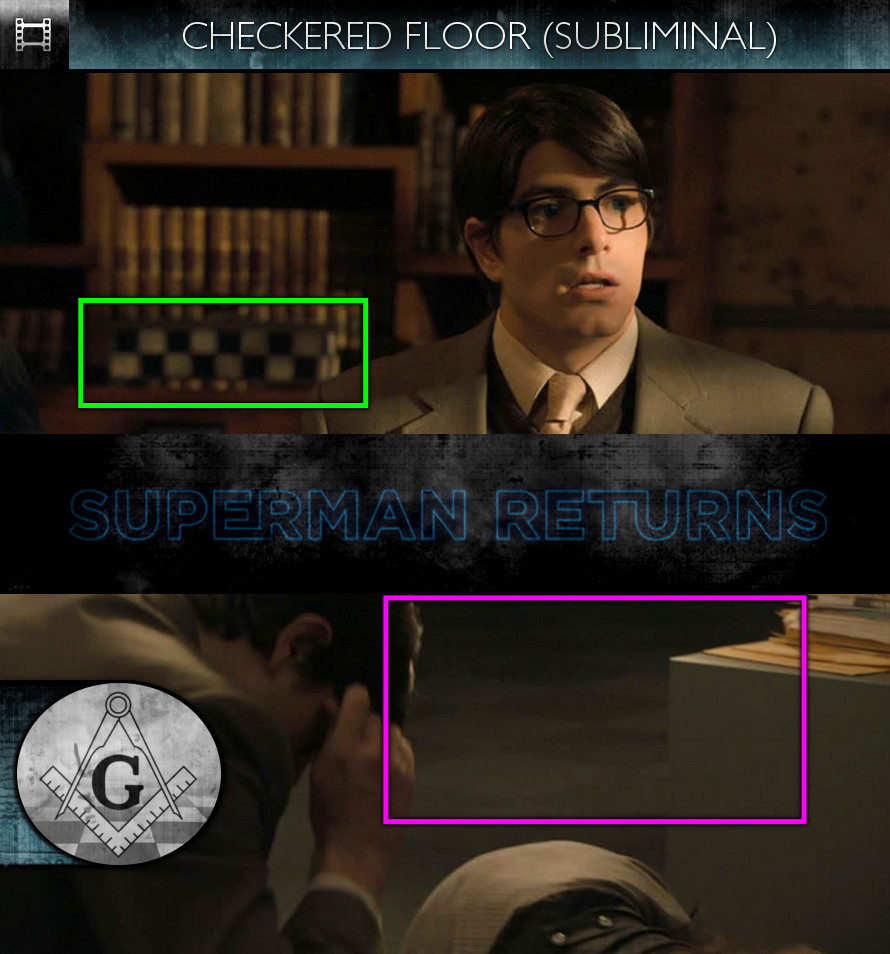 Superman Returns (2006) - Checkered Floor - Subliminal