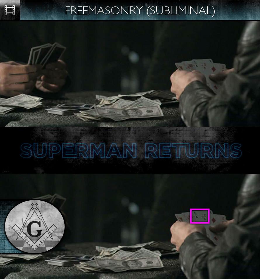 Superman Returns (2006) - Freemasonry - Subliminal