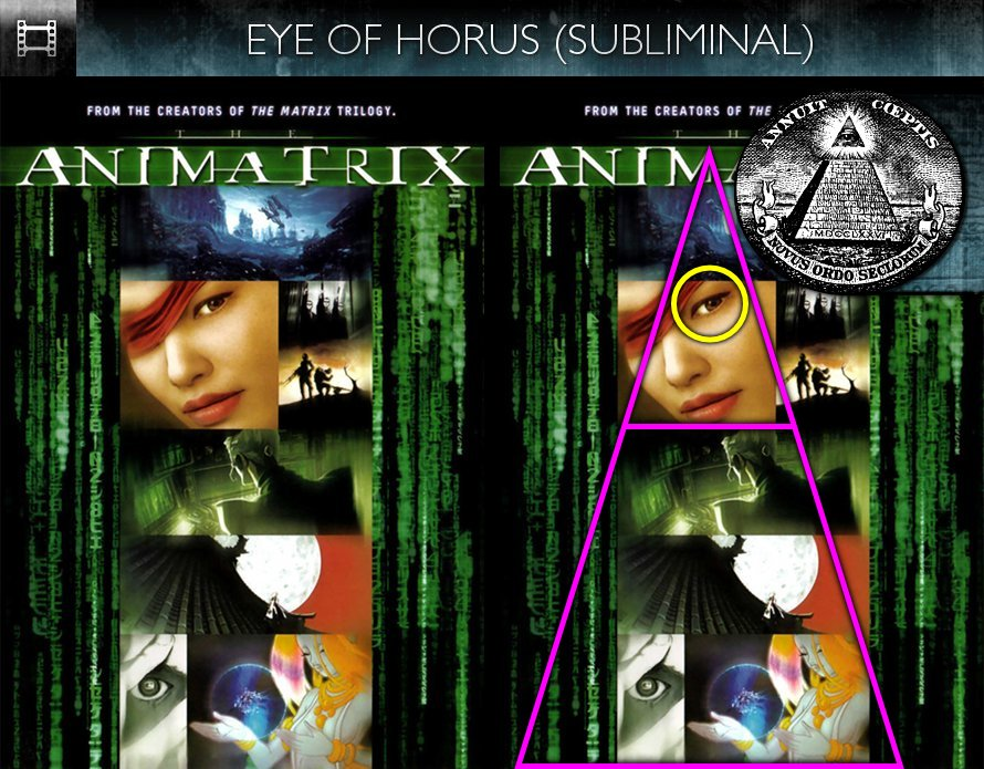 The Animatrix (2003) - Poster - Eye of Horus - Subliminal