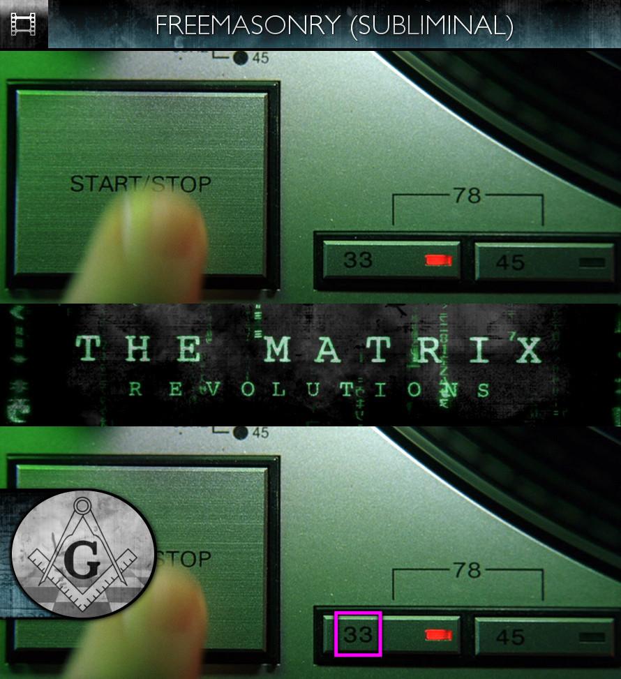 The Matrix Revolutions (2003) - Freemasonry - Subliminal