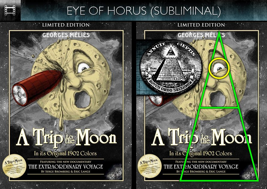 A Trip To The Moon (1902) - DVD - Eye of Horus - Subliminal