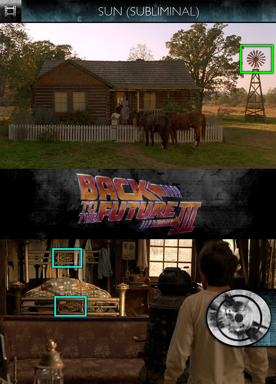Back to the Future, Part 3 (1990) - Sun/Solar - Subliminal