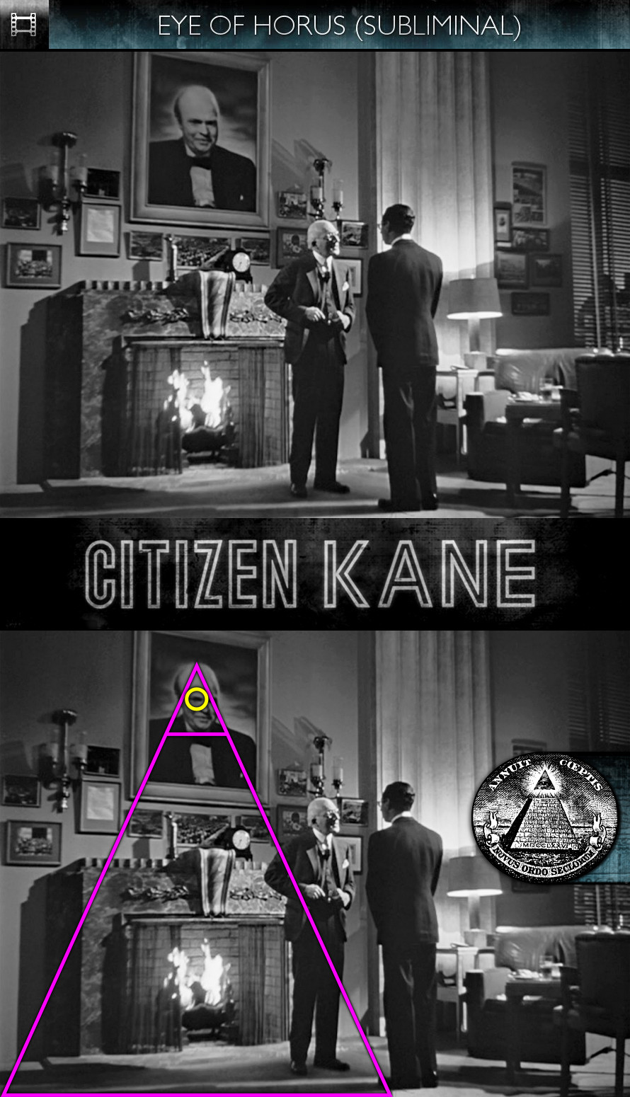 Citizen Kane (1941) - Eye of Horus - Subliminal