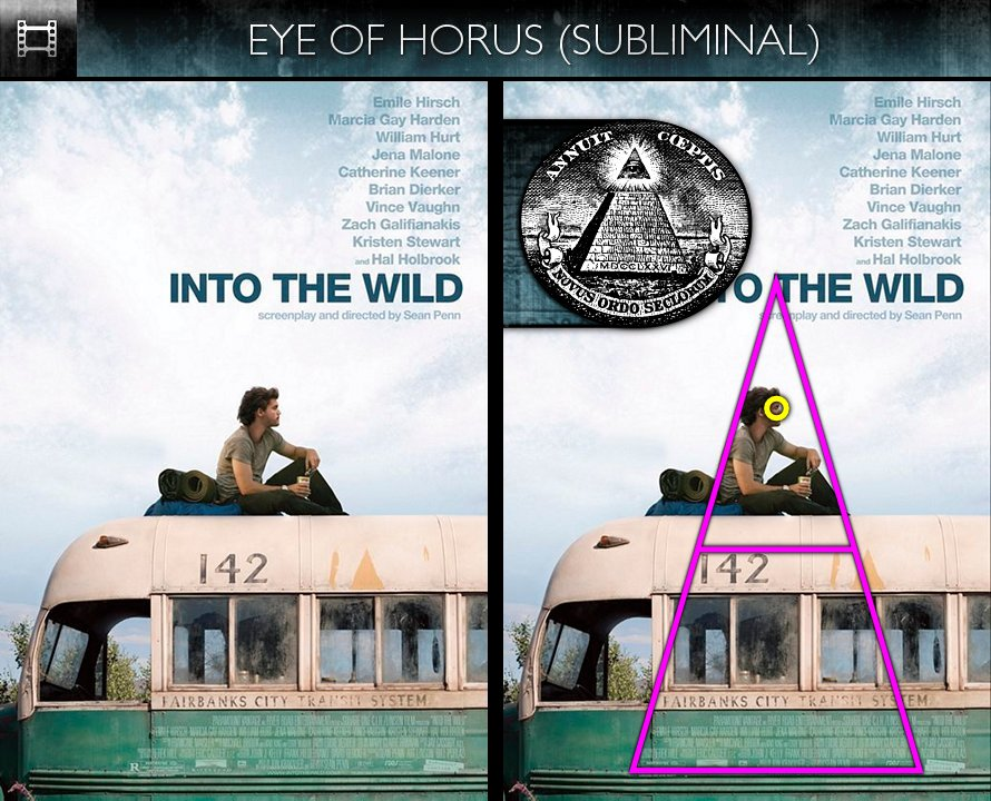 Into the Wild (2007) - Poster - Eye of Horus - Subliminal