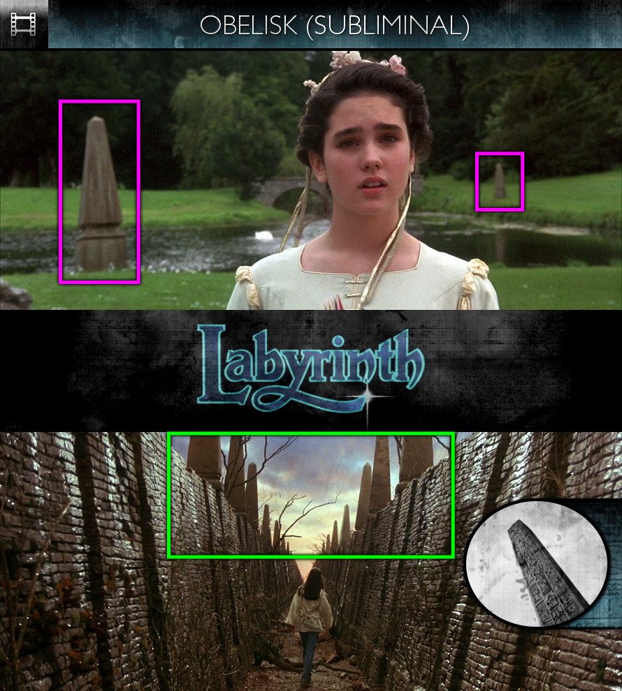 Labyrinth (1986) - Obelisk - Subliminal