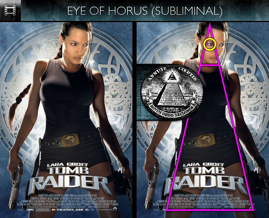 Lara Croft - Tomb Raider (2001) - Poster - Eye of Horus - Subliminal