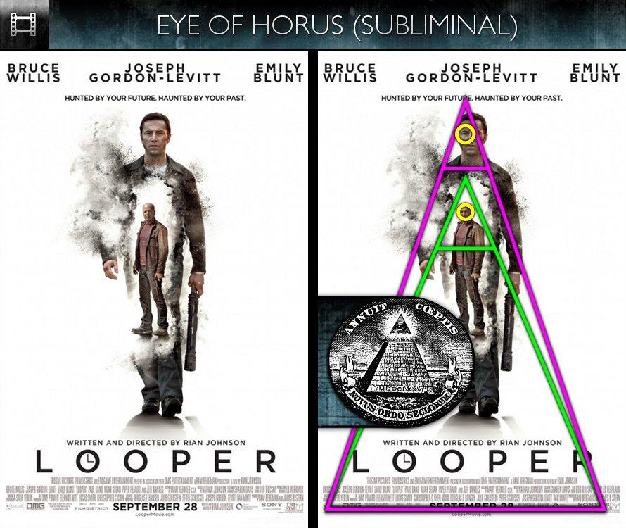 Looper (2012) - Poster - Eye of Horus - Subliminal