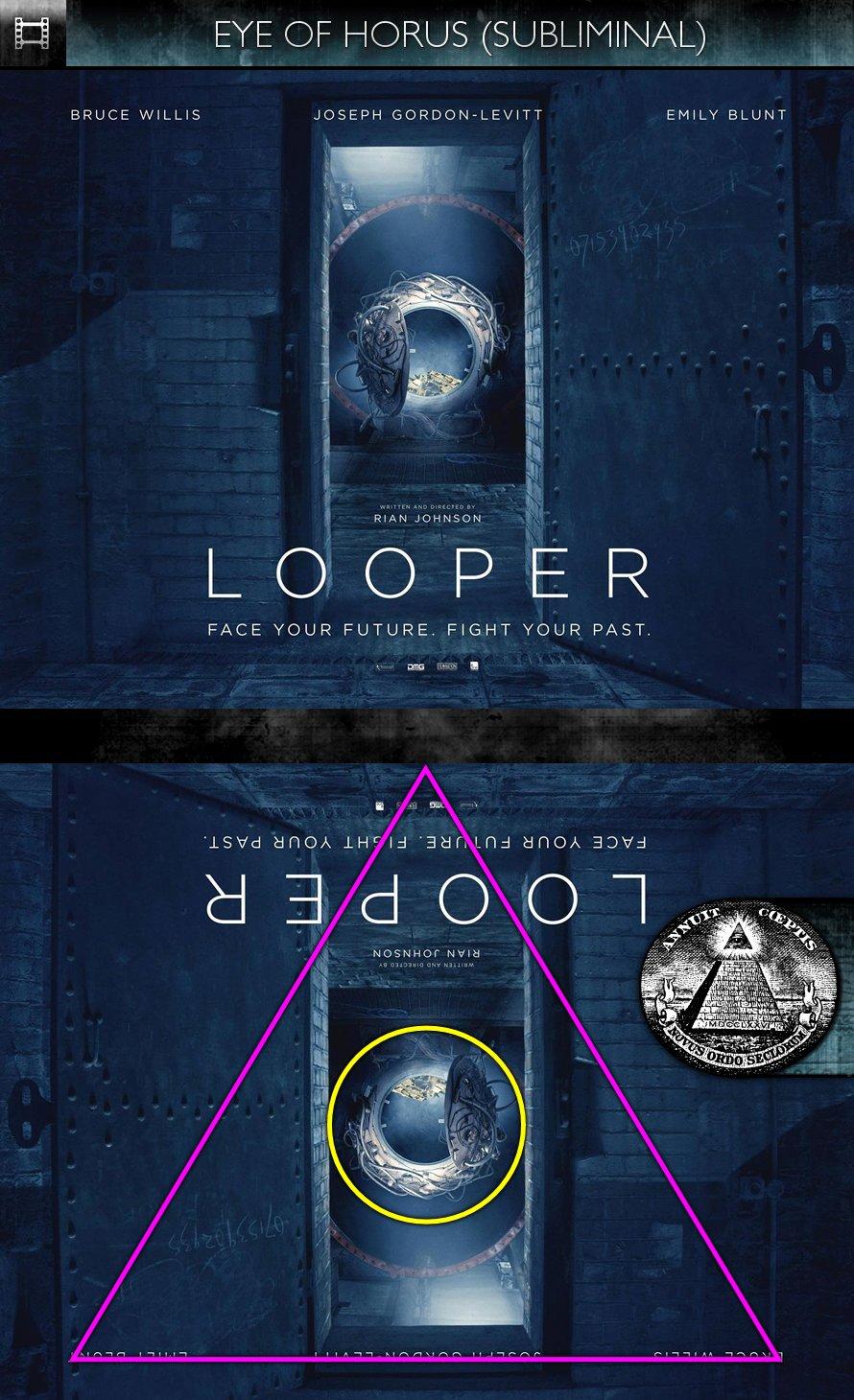 Looper - Poster - Eye of Horus - Subliminal