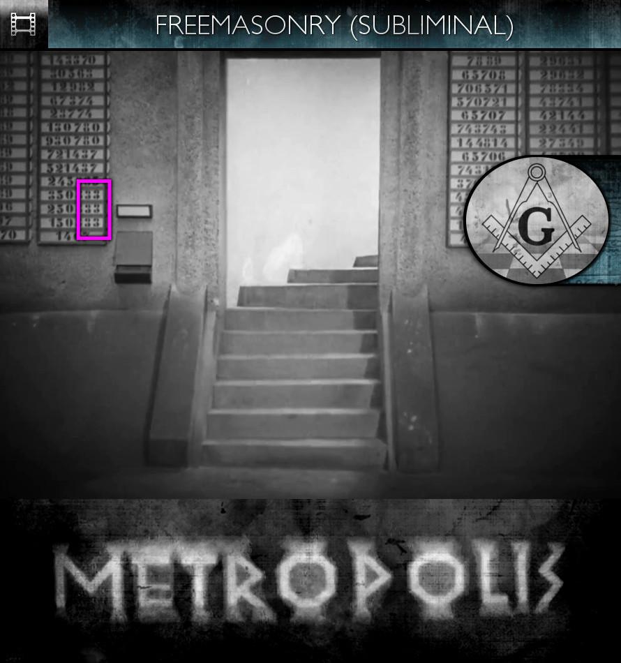 Metropolis (1927) - Freemasonry - Subliminal