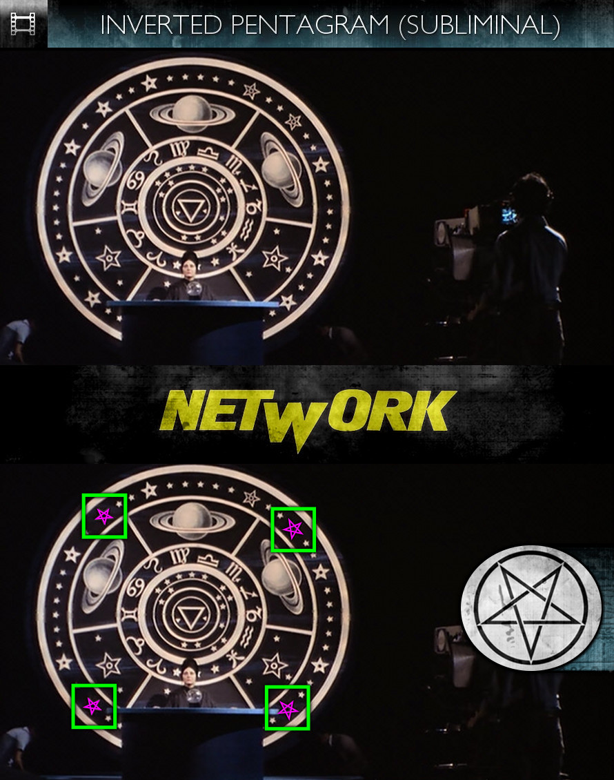 Network (1976) - Inverted Pentagram - Subliminal