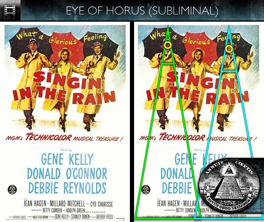 Singin' In The Rain (1952) - Poster - Eye of Horus - Subliminal