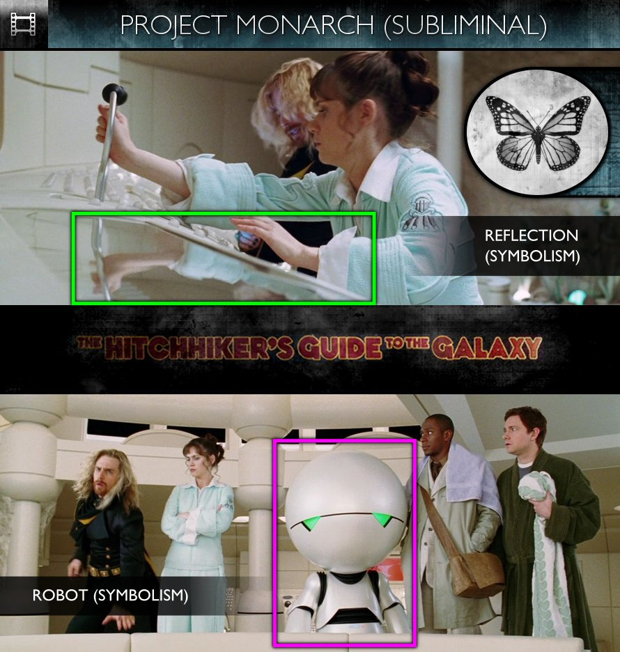 The Hitchhiker's Guide To The Galaxy (2005) - Project Monarch - Subliminal
